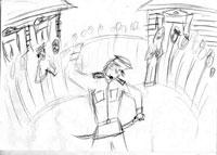 Рисунок №2 после сессии холотропного дыхания