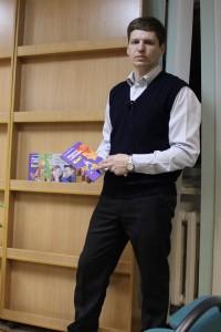 Ведущий родительского тренинга, профессиональный психолог Дмитрий Агапов